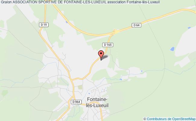 plan association Association Sportive De Fontaine-les-luxeuil