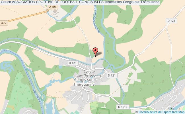 plan association Association Sportive De Football Congis Isles Congis-sur-Thérouanne