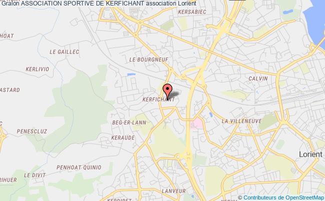 plan association Association Sportive De Kerfichant