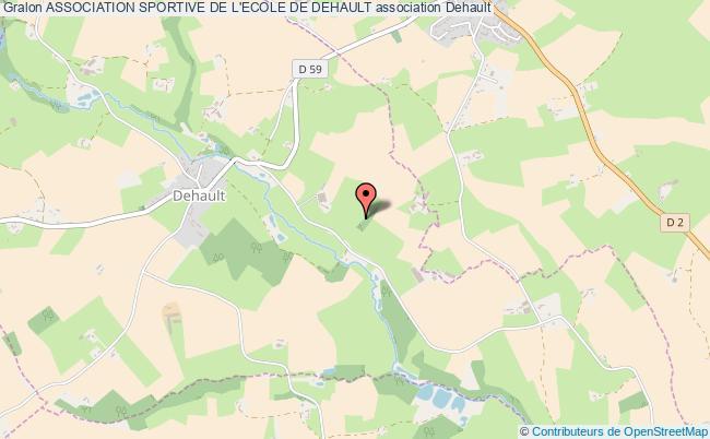 plan association Association Sportive De L'ecole De Dehault