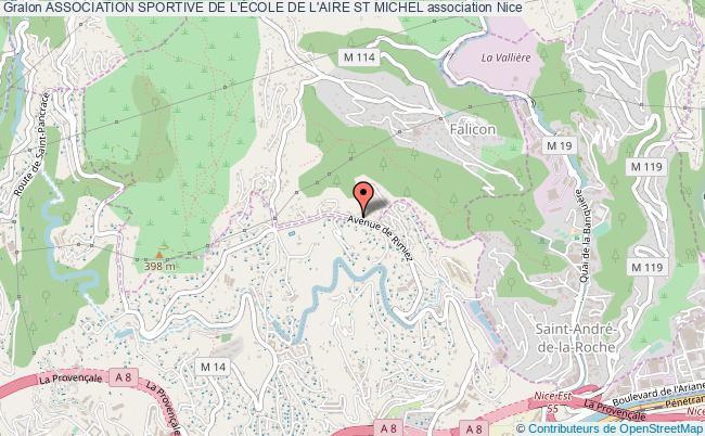 plan association Association Sportive De L'École De L'aire St Michel