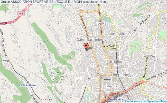 plan association Association Sportive De L'École Du Righi