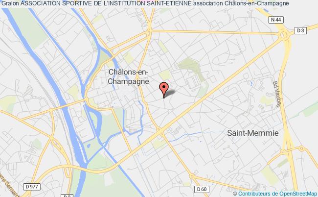 plan association Association Sportive De L'institution Saint-etienne