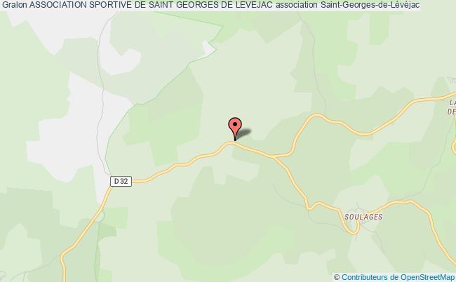 plan association Association Sportive De Saint Georges De Levejac