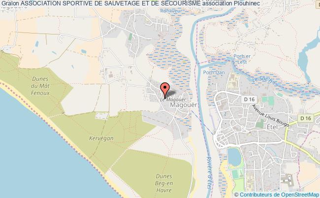 plan association Association Sportive De Sauvetage Et De Secourisme