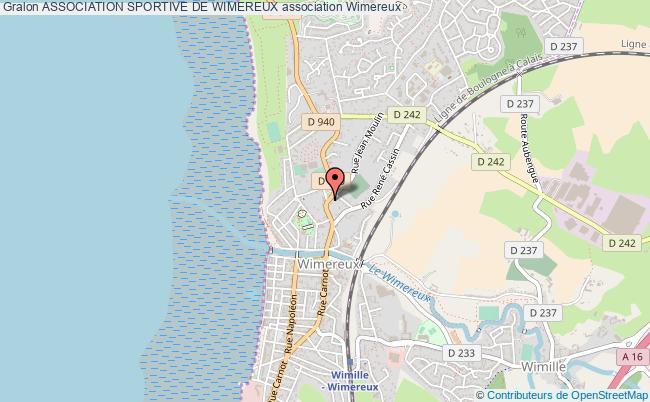 plan association Association Sportive De Wimereux Wimereux