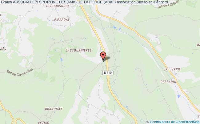 plan association Association Sportive Des Amis De La Forge (asaf)