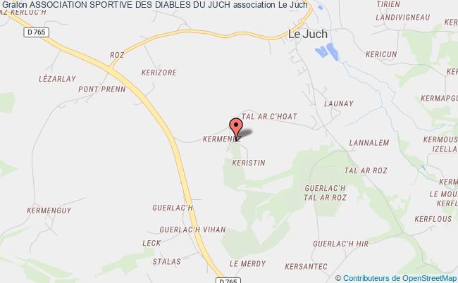 plan association Association Sportive Des Diables Du Juch