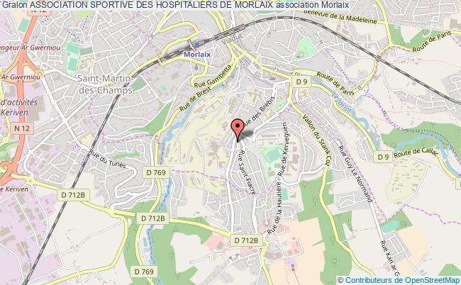 plan association Association Sportive Des Hospitaliers De Morlaix Morlaix