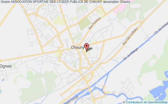 plan association Association Sportive Des Lycees Publics De Chauny