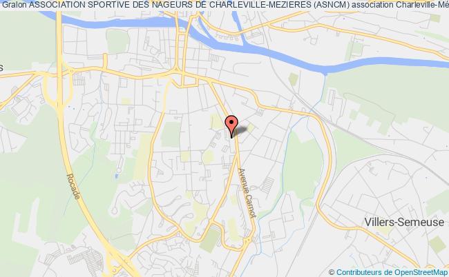 plan association Association Sportive Des Nageurs De Charleville-mezieres