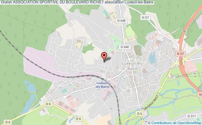 plan association Association Sportive Du Boulevard Richet