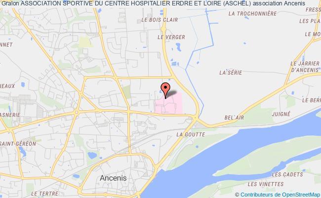 plan association Association Sportive Du Centre Hospitalier Erdre Et Loire (aschel)