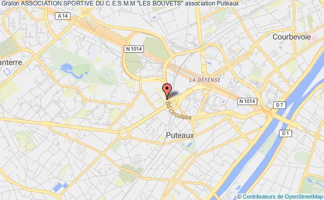 """plan association Association Sportive Du C.e.s.m.m """"les Bouvets"""""""
