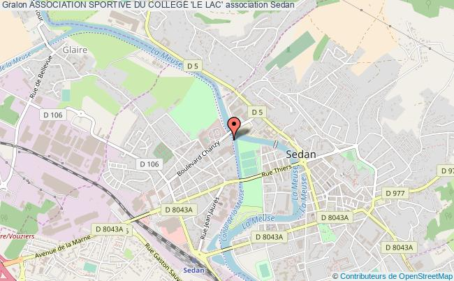 plan association Association Sportive Du College 'le Lac'