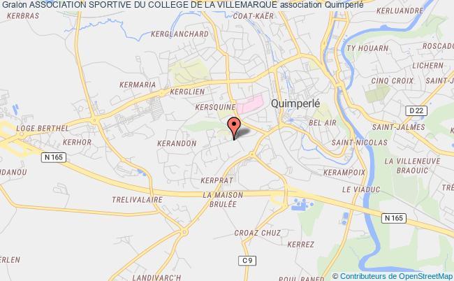 plan association Association Sportive Du College De La Villemarque