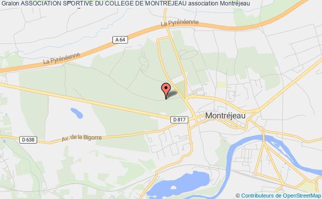 plan association Association Sportive Du College De Montrejeau