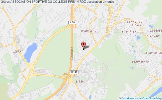 plan association Association Sportive Du College Firmin Roz