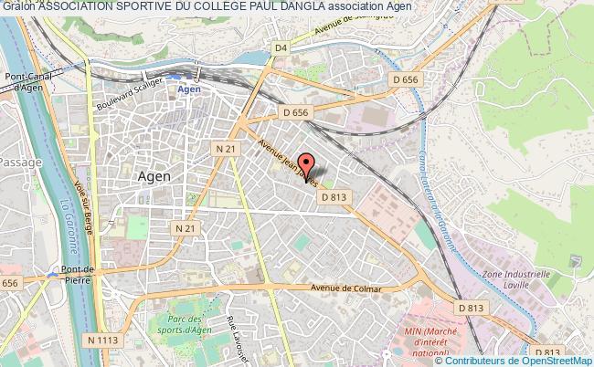 plan association Association Sportive Du College Paul Dangla