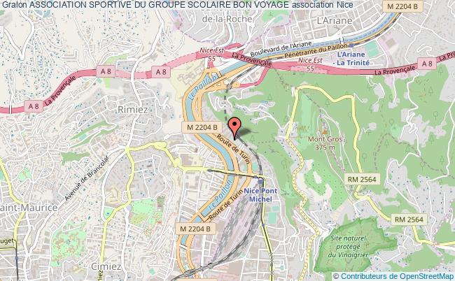 plan association Association Sportive Du Groupe Scolaire Bon Voyage