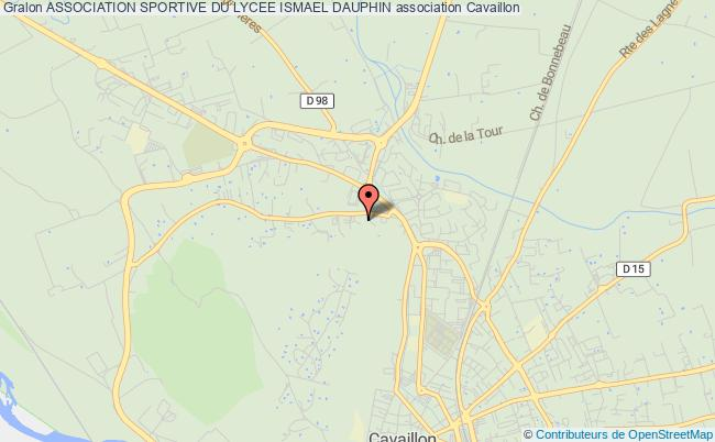 plan association Association Sportive Du Lycee Ismael Dauphin