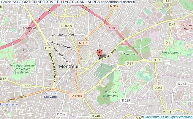 plan association Association Sportive Du LycÉe Jean JaurÈs