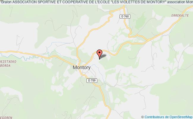 """plan association Association Sportive Et Cooperative De L'ecole """"les Violettes De Montory"""""""