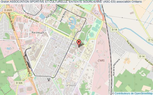 plan association Association Sportive Et Culturelle 'entente Sourcienne' (asc-es)