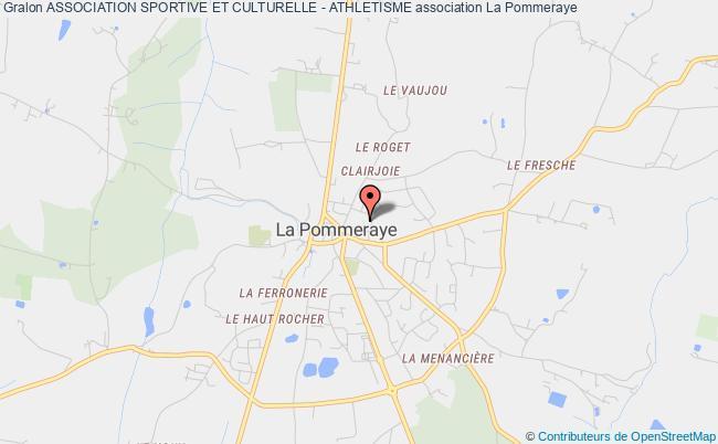 plan association Association Sportive Et Culturelle - Athletisme Mauges-sur-Loire