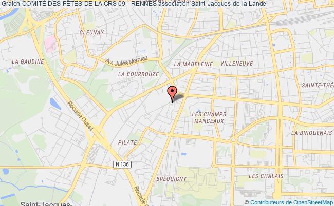 plan association Association Sportive Et Culturelle De La C.r.s. N°09 Rennes