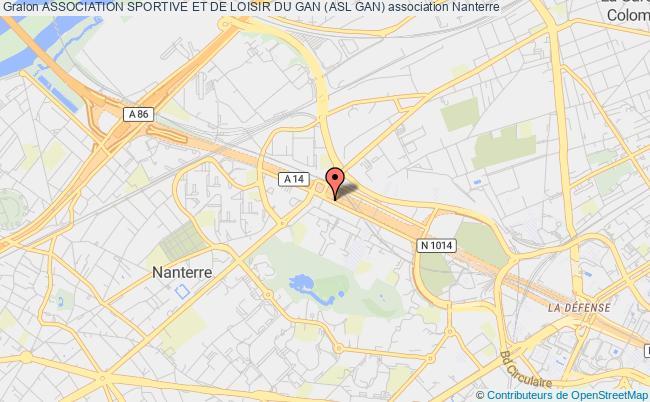 plan association Association Sportive Et Culturelle Du Groupe Des Assurances Nationales (asc Gan) Puteaux