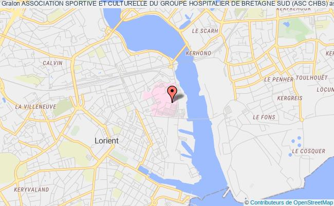 plan association Association Sportive Et Culturelle Du Groupe Hospitalier De Bretagne Sud (asc Chbs)