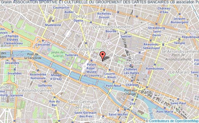 plan association Association Sportive Et Culturelle Du Groupement Des Cartes Bancaires Cb