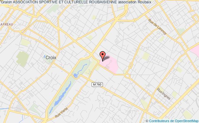 plan association Association Sportive Et Culturelle Roubaisienne Roubaix