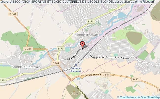 plan association Association Sportive Et Socio-culturelle De L'ecole Blondel