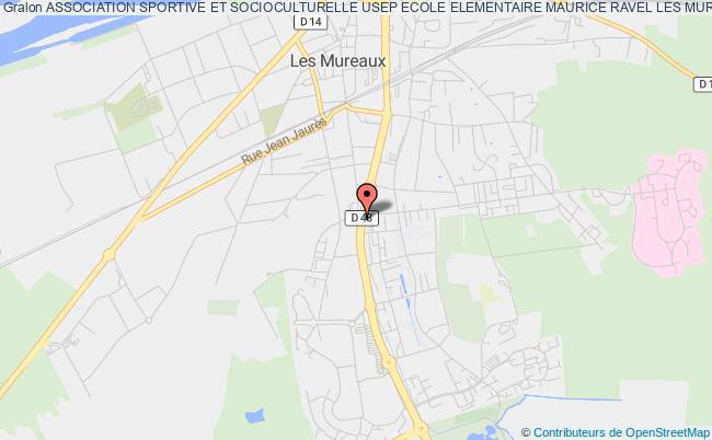 plan association Association Sportive Et Socioculturelle Usep Ecole Elementaire Maurice Ravel Les Mureaux Les   Mureaux
