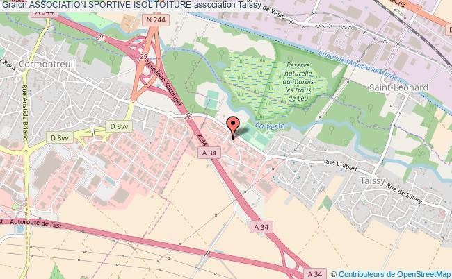 plan association Association Sportive Isol Toiture