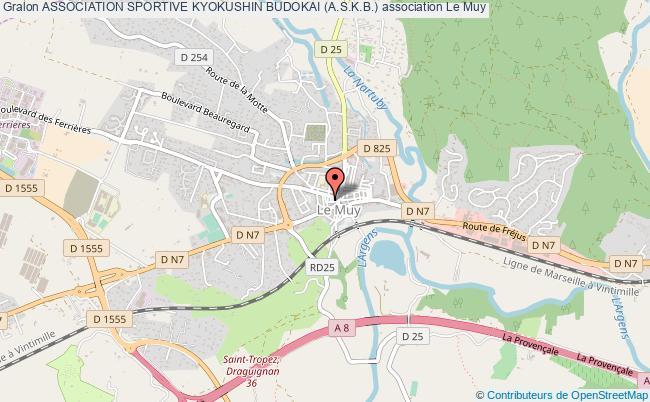 plan association Association Sportive Kyokushin Budokai (a.s.k.b.) Le    Muy