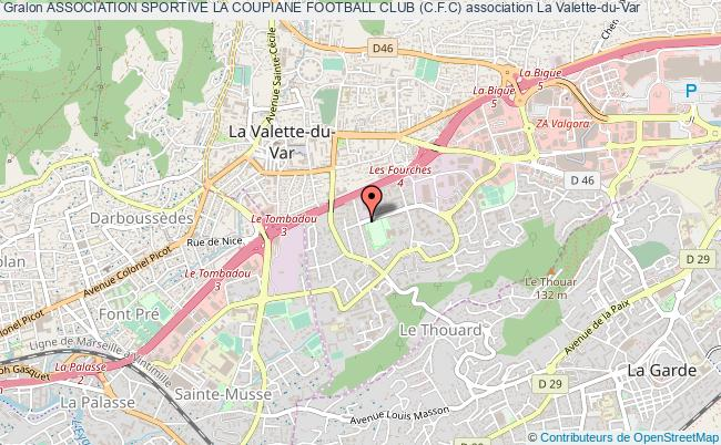 plan association Association Sportive La Coupiane Football Club (c.f.c)