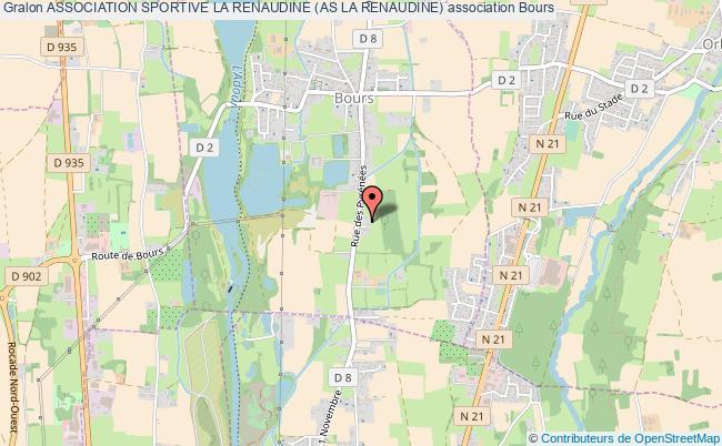 plan association Association Sportive La Renaudine (as La Renaudine) Bours