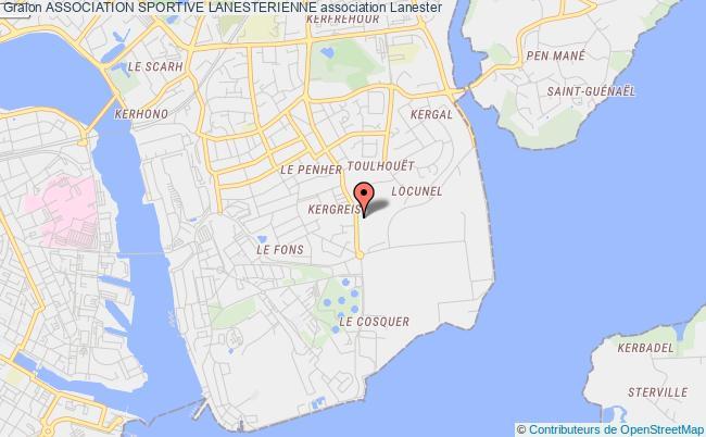 plan association Association Sportive Lanesterienne