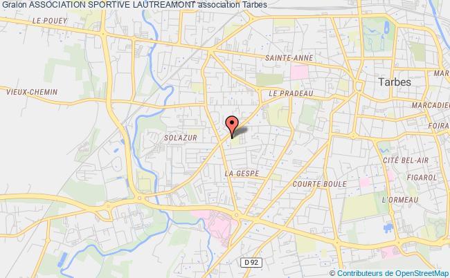plan association Association Sportive Lautreamont Tarbes