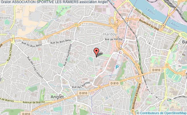 plan association Association Sportive Les Ramiers Anglet