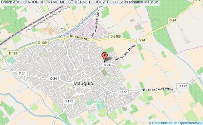 plan association Association Sportive Melgorienne Bougez  Bougez
