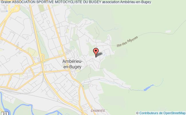 plan association Association Sportive Motocycliste Du Bugey Ambérieu-en-Bugey