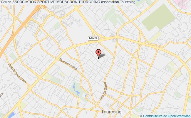 plan association Association Sportive Mouscron Tourcoing Tourcoing
