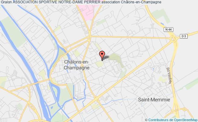 plan association Association Sportive Notre-dame Perrier