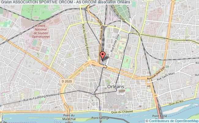 plan association Association Sportive Orcom - As Orcom