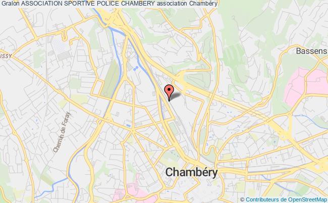 plan association Association Sportive Police Chambery
