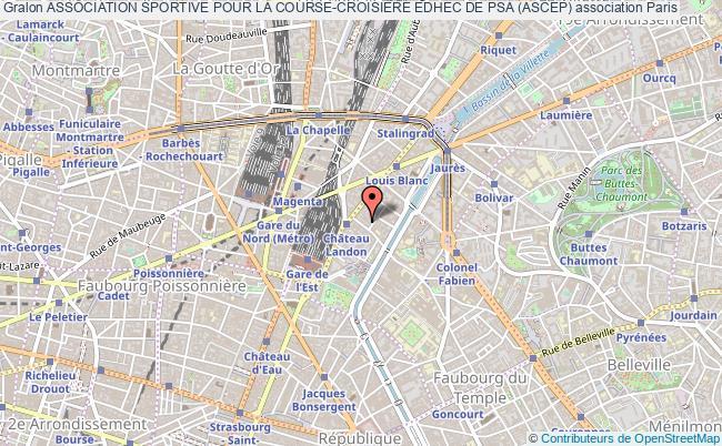 plan association Association Sportive Pour La Course-croisiÈre Edhec De Psa (ascep)